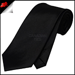 Mens Black Necktie