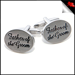 Mens Father of the Groom Cufflinks
