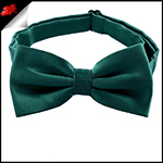 Mens Forest Dark Green Bow Tie