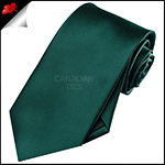 Mens Forest Dark Green Necktie