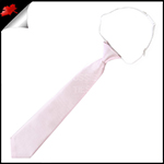 Baby Pink Junior Boys Elasticated Necktie