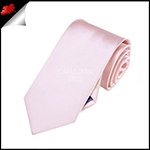 Boys Baby Light Pink Plain Necktie
