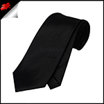 Boys Black Necktie