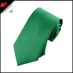 Boys Emerald Green Necktie
