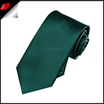 Boys Forest Green Necktie