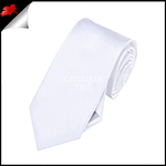 Boys White Necktie