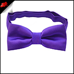 Cadburys Amethyst Purple Boys Bow Tie