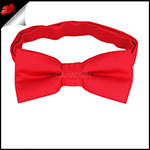 Cherry Red Boys Bow Tie