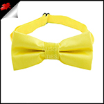 Daffodil Yellow Boys Bow Tie