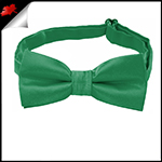 Emerald Green Boys Bow Tie