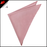 Mens Blush Dusky Pink Handkerchief