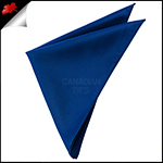 Mens Navy Dark Blue Pocket Square