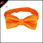 Orange Boys Bow Tie