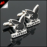 Mens Playboy Bunny Cufflinks