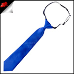 Royal Blue Junior Boys Elasticated Necktie