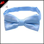 Sky Baby Blue Boys Bow Tie