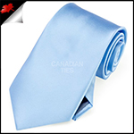 Mens Sky Baby Blue Plain Necktie