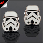Mens Star Wars Stormtrooper Cufflinks